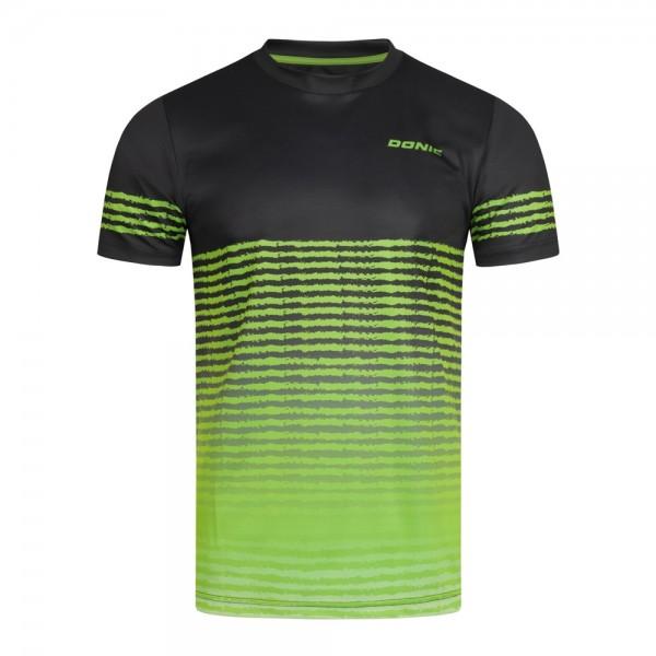 Donic T-Shirt Tropic Kids schwarz/limegrün