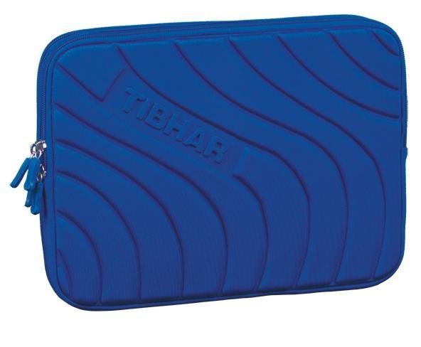 Tibhar Doppelhülle Wave blau