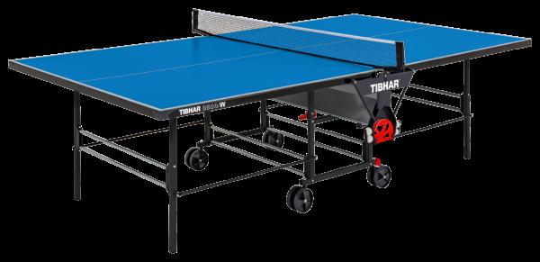 Tibhar Tisch 3600W outdoor blau - spielposition
