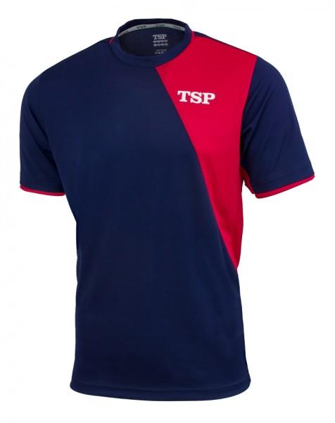 TSP T-Shirt Tameo marine/rot