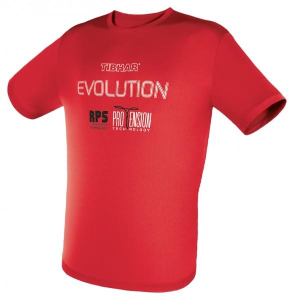 Tibhar T-Shirt Evolution rot