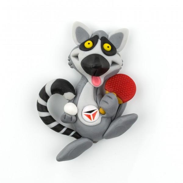 Tibhar 3D-Magnet Waschbär