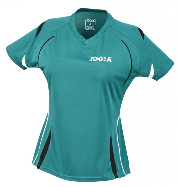 Joola Hemd Milan Lady grün/schwarz S