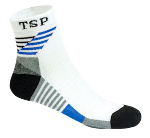 TSP Socke Hyper Flex weiß/blau 40-43