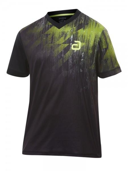 andro T-Shirt Narcas schwarz/grün