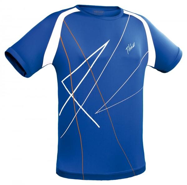 Tibhar T-Shirt Rocket blau