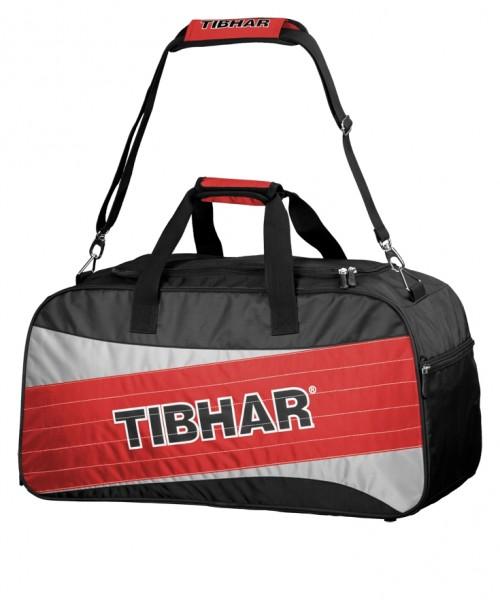 Tibhar Sporttasche Spy schwarz/grau/rot