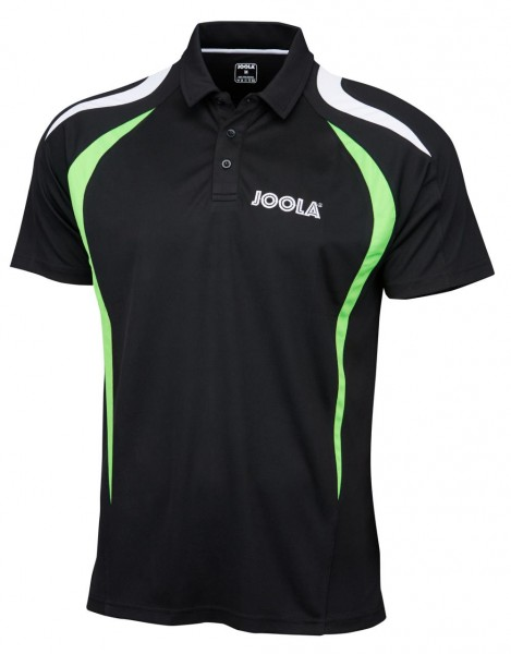 Joola Hemd Squadra schwarz/grün/weiß L