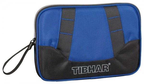 Tibhar Einzelhülle DeLuxe blau/schwarz