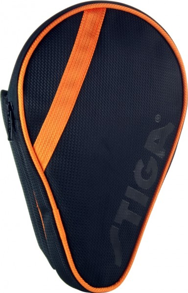 Stiga Einzelhülle League oval schwarz/orange
