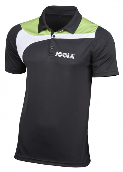 Joola Hemd Padova Men schwarz/grün