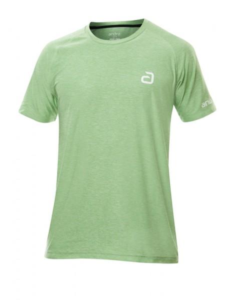 andro T-Shirt Melange Pro grün