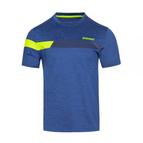 Donic T-Shirt Stunner Kids blau/marine/gelb