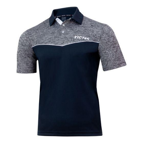 Victas Hemd V-Shirt 212 grau/grau-melange