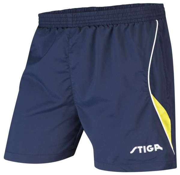 Stiga Short Fashion marine/gelb