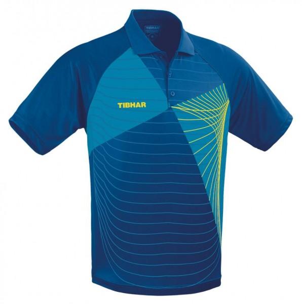 Tibhar Hemd Vibe blau/gelb