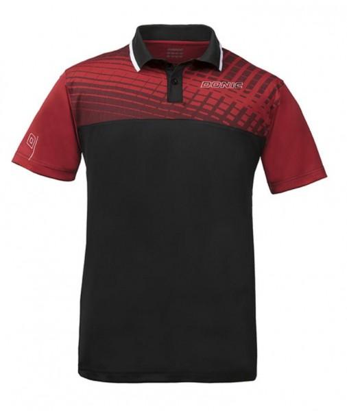 Donic Hemd Makro Flex rot/schwarz