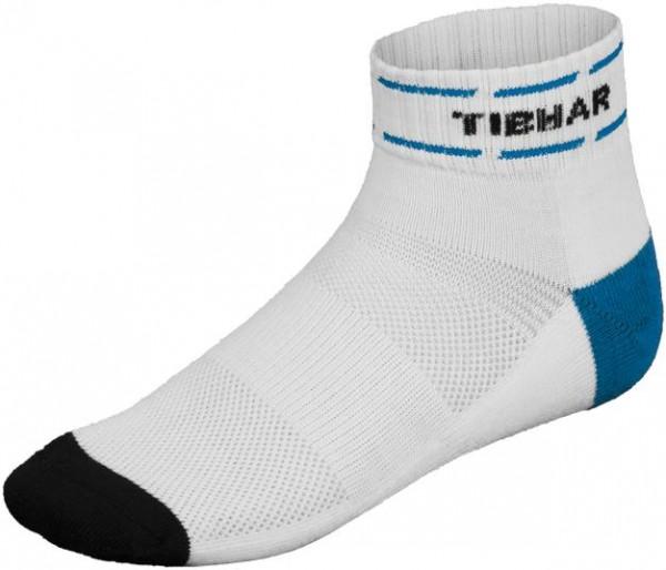 Tibhar Socke Classic weiß/blau