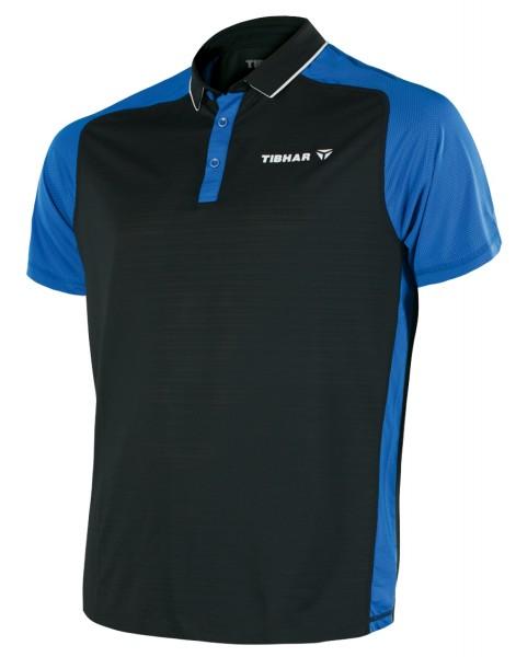 Tibhar Hemd Pro schwarz/blau