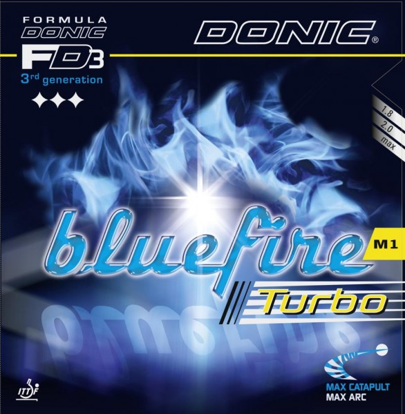 Donic Belag Bluefire M1 Turbo