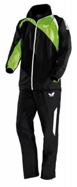 Butterfly Anzug Passo schwarz/grün/weiß