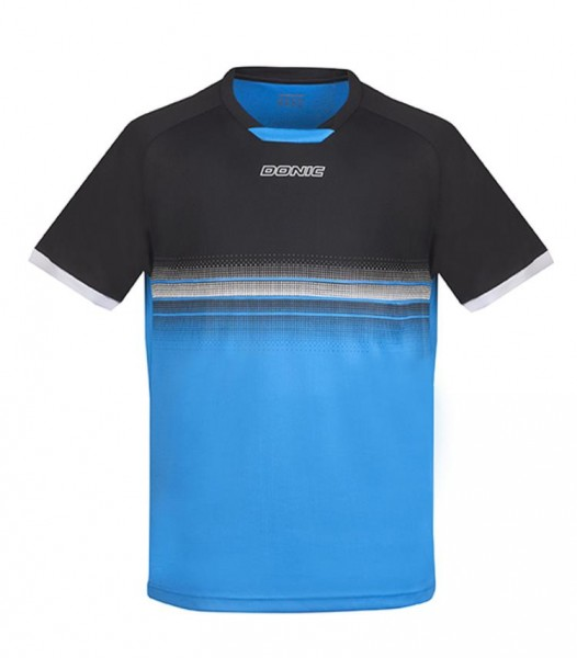 Donic T-Shirt Traxion schwarz/divablau L