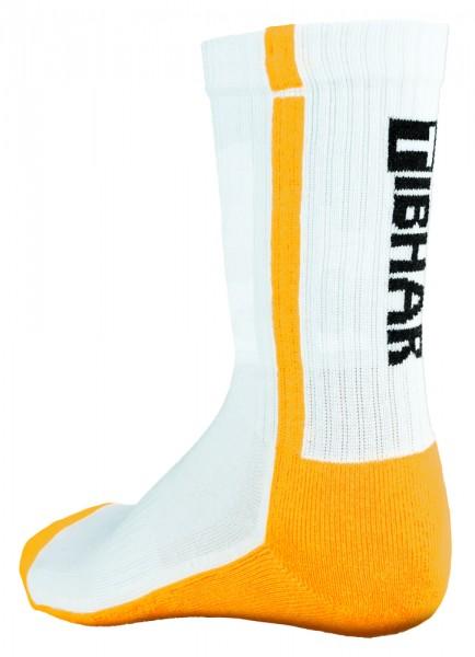 Tibhar Socke Pro weiß/gelb
