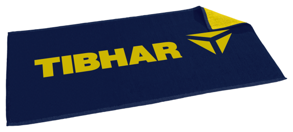 Tibhar Handtuch T marine/gelb
