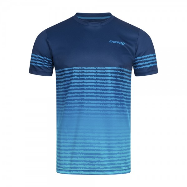 Donic T-Shirt Tropic Kids marine/cyanblau