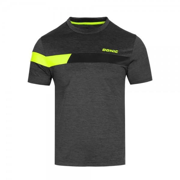 Donic T-Shirt Stunner Kids anthrazit/schwarz/gelb
