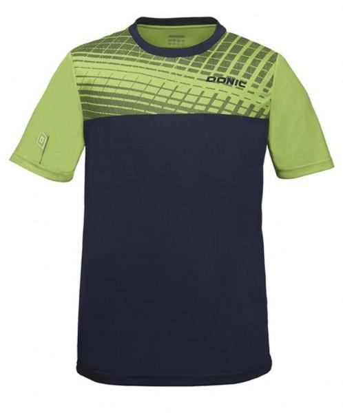 Donic T-Shirt Vertigo limegrün/marine