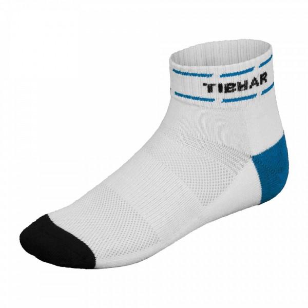 Tibhar Socke Classic Plus weiß/blau