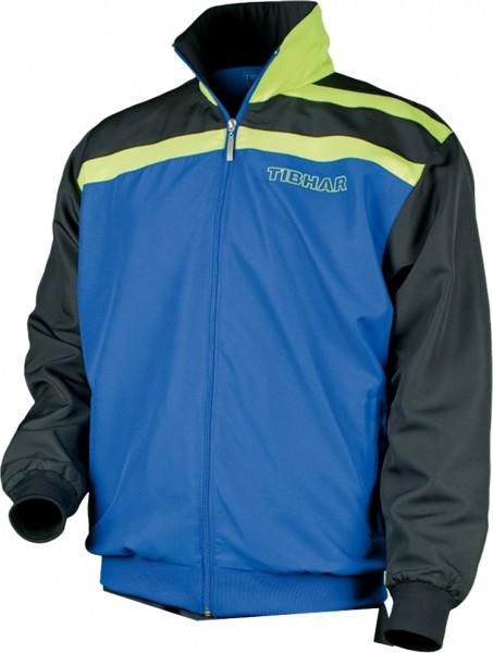 Tibhar Anzugjacke Stripe blau/schwarz/grün