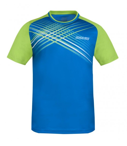 Donic T-Shirt Attack blau/lime