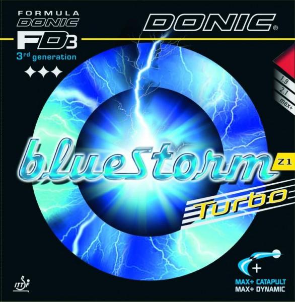 Donic Belag Bluestorm Z1 Turbo blau