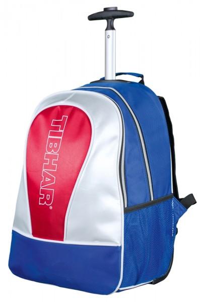 Tibhar Trolley Rucksack Trend blau/weiß/rot