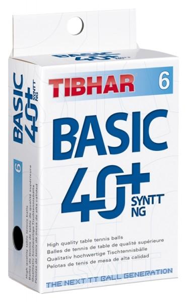 Tibhar Trainings-Ball Basic 40+ SYNTT NG ABS 6er Pack