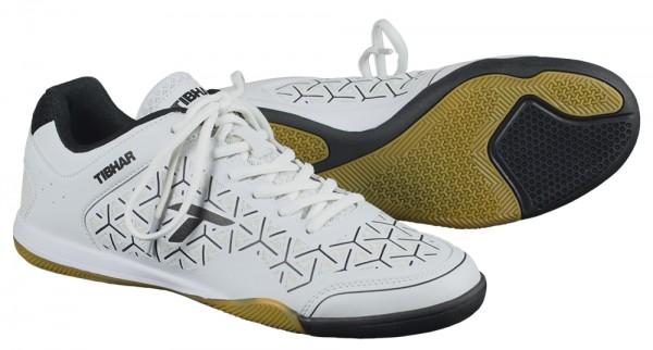 Tibhar Schuh Revolution Flex weiß/schwarz