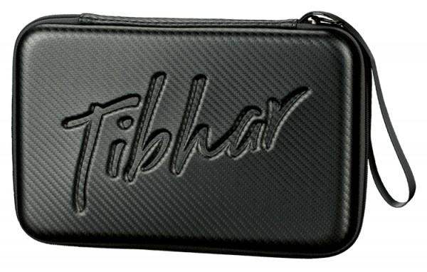 Tibhar Schlägerkoffer Carbon eckig schwarz