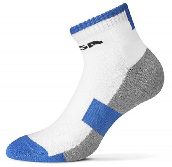 Stiga Socke Image halflong weiß/blau