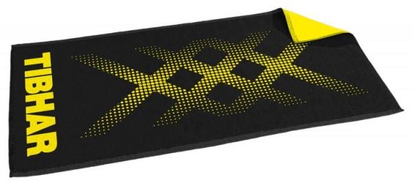 Tibhar Handtuch Triple X schwarz/gelb