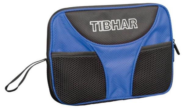 Tibhar Einzelhülle Crown schwarz/blau