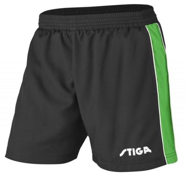 Stiga Short Lunar schwarz/grün