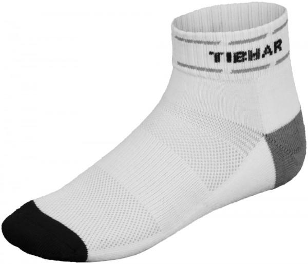 Tibhar Socke Classic weiß/grau