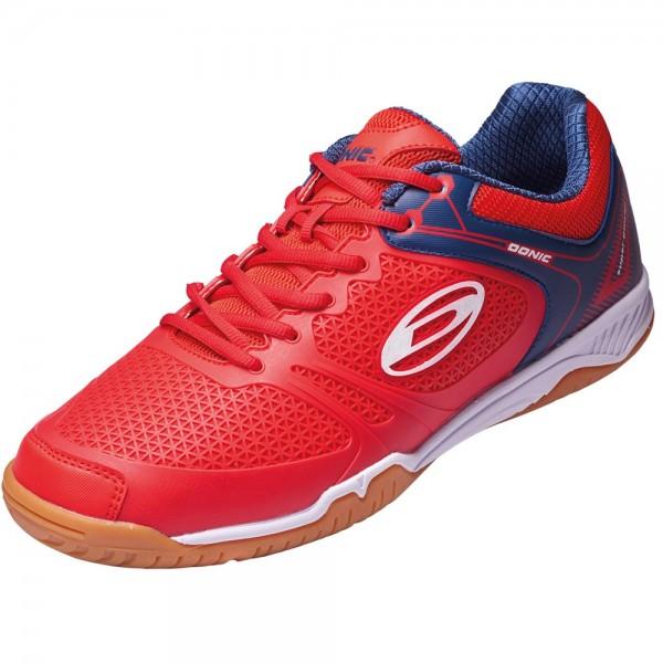 Donic Schuh Ultra Power II rot/blau