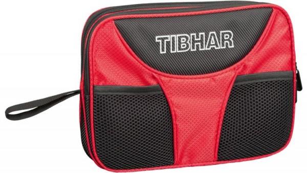 Tibhar Doppelhülle Crown schwarz/rot