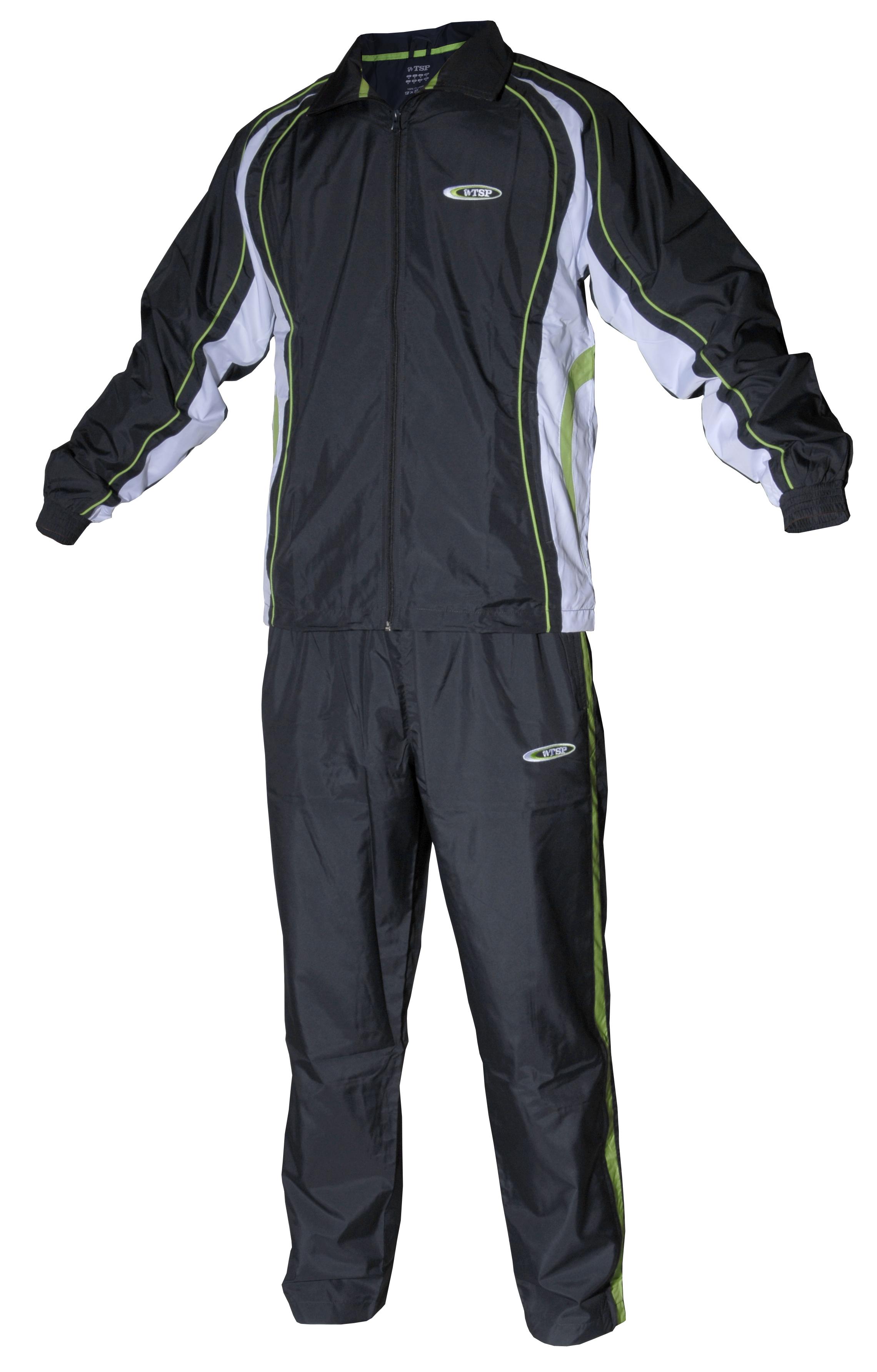 TSP Anzug Minoru schwarz/weiß/grün | Bekleidung | %SALE ...