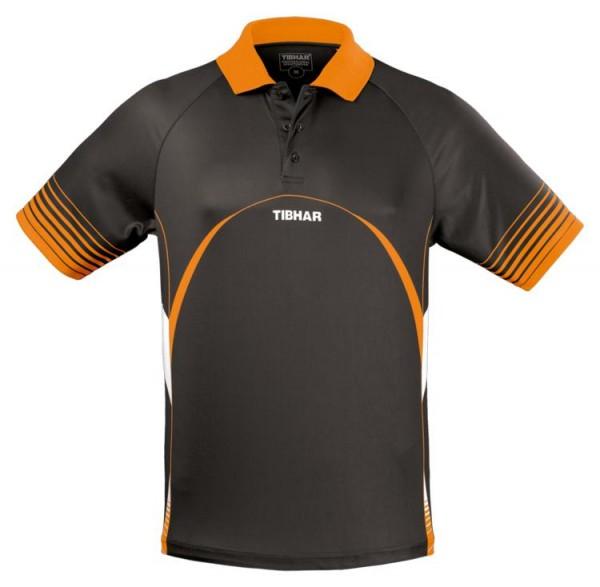 Tibhar Hemd Break schwarz/orange