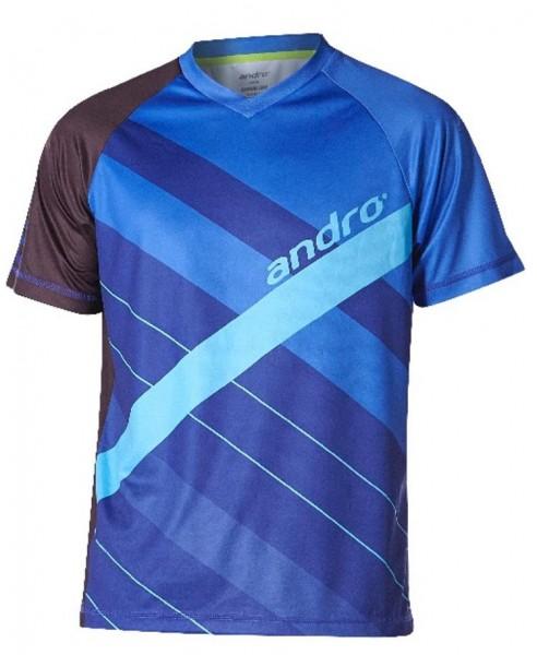andro T-Shirt Jason blau/hellblau