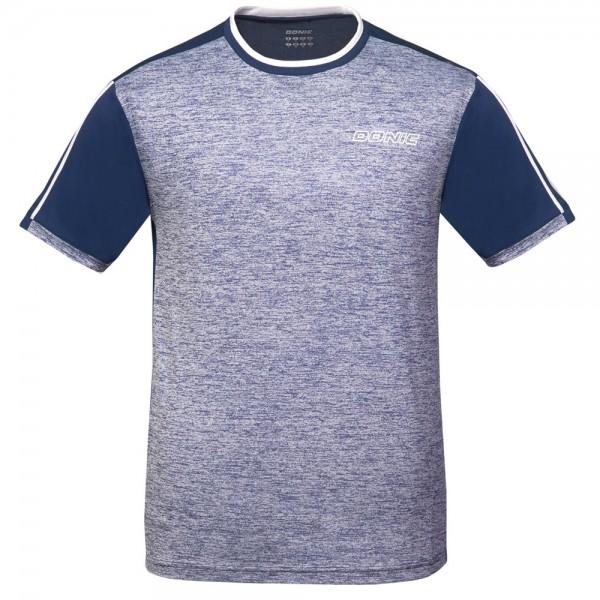Donic T-Shirt Melange Tee Kids blau-melange/marine
